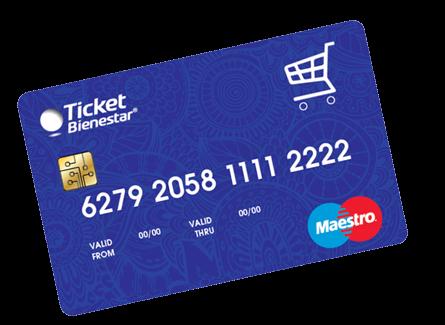 ¿Cómo usar la tarjeta Ticket Bienestar?