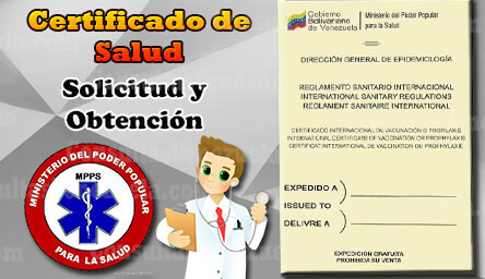 Certificado de Salud en Venezuela: Nacional e Internacional (Pasos y Requisitos)