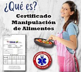 ¿Qué es el Certificado de Manipulación de Alimentos?