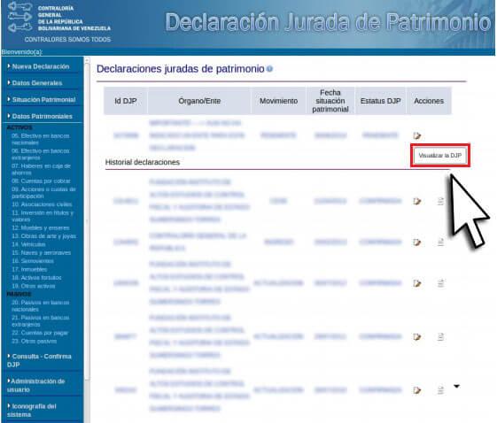 ¿Cómo registrarse para realizar la declaración jurada de patrimonio? Paso a paso 6