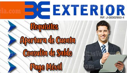 Banco Exterior: Requisitos, Apertura de Cuenta, Nexo en Línea, Pago Móvil y Consulta de Saldo