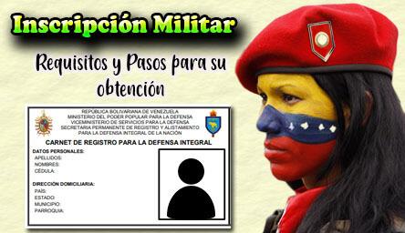 Inscripción Militar en Venezuela: Requisitos, Planilla y Pasos para el Registro