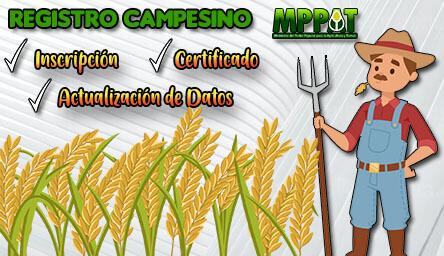 Registro Campesino: Inscripción, Certificado y Actualización de Datos