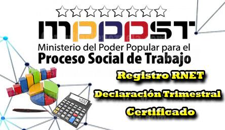 MINPPTRASS (Mintra): Registro, Declaración Trimestral y Certificado