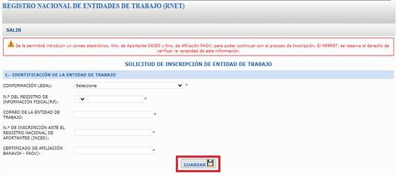 ¿Cómo Registrarse en el Registro Nacional de Entidades de Trabajo (RNET)?