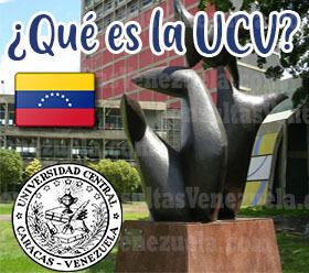 ¿Qué es la UCV? Historia