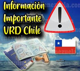 Información de Interés sobre la Visa Chilena de Responsabilidad Democrática
