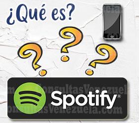 Que es el Spotify