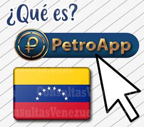 ¿Qué es la PetroApp?