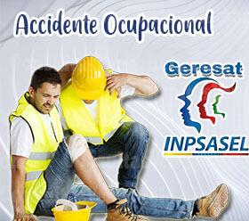 ¿Qué hacer en caso de un accidente Ocupacional?