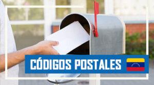 como saber los códigos postales en venezuela