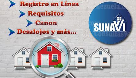 Sunavi: Funciones, Registro en Línea, Requisitos, Canon y Protocolo de Desalojo